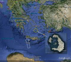 Map Of Santorini Greece by Santorini Greece