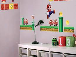 wall nintendo wall decals stickers for kids bedrooms full size of wall nintendo wall decals stickers for kids bedrooms naddonline intended for stickers