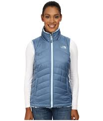 womens sweater vest the mossbud swirl reversible vest cool blue tofino