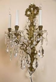 Crystal Wall Sconce by Crystal Wall Sconces Ideas