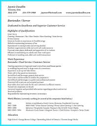 bartender resume format bartender resume format bartender resume format the best resume