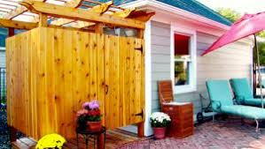 Outdoor Shower Room - stylish and functional outdoor showers hgtv
