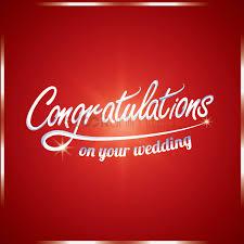 Wedding Congratulations Banner Congratulations On Your Wedding Vector Image 1811321
