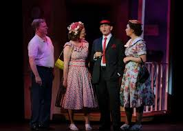home theater san diego theater review damn yankees san diego musical theatre