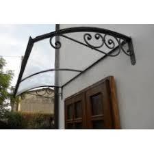 tettoia in ferro pensilina in rame e ferro ferrobattuto biz arredamento