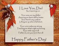 happy fathers day poems from 2017 poetry