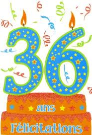 36 ans de mariage carte anniversaire âge 36 ans pas chère carte anniversaire 36