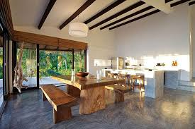modern wood kitchen table home design ideas