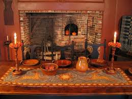 Rugs For Fireplace Hearths 212 Best Colonial Hearth Images On Pinterest Primitive Decor