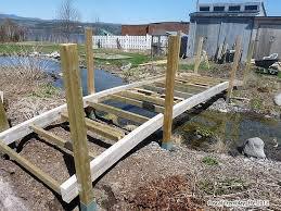 wooden bridge plans pond bridge how to build a garden bridge or arched footbridge