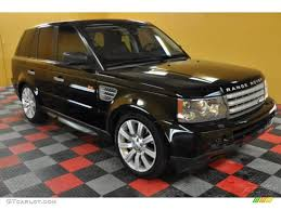 2007 java black pearl land rover range rover sport supercharged