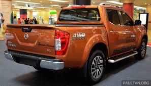 orange nissan truck nissan np300 navara vl now on display at 1 utama image 395048