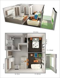 Pin By Wwwdetaildesigngroupcom Small Quarters Pinterest - Design for one bedroom apartment