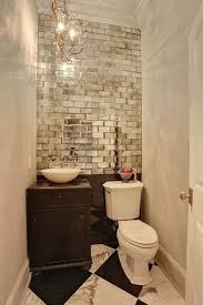 Top  Best Small Bathroom Wallpaper Ideas On Pinterest Half - Smallest bathroom designs