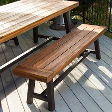 28 outdoor dining bench wooden outdoor dining bench