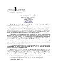 10 Vendor Non Compete Agreement Document 207 Franchise Disclosure Franchising Insurance
