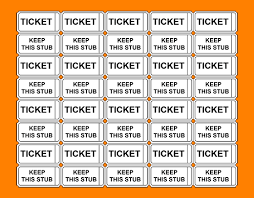 9 raffle tickets template quotations sample