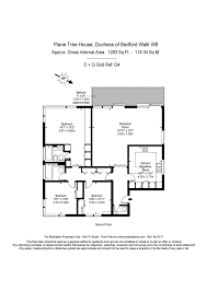 Treehouse Floor Plan Flat For Sale In Duchess Of Bedfords Walk W8 Featuring A Balcony