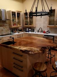 wood kitchen island top kitchen with salvaged wood island contemporary intended for