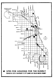 chicago housing projects map planning and an aging population