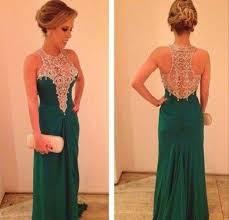 dress prom dress long gown emerald dress emerald green long