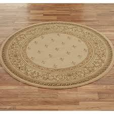 Rugs Bay Area Rugs Bay Area Round Cream Floral Pattern Beautiful Vintage Sisal