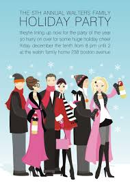 perfect partygoers invitations winter parties and party invitations