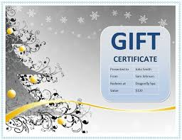 the 25 best free gift certificate template ideas on pinterest