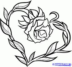 gallery cute heart drawings easy drawing art gallery