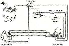 how to wire a gm external regulated 10dn alternator