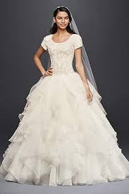modest wedding dress modest wedding dresses gowns david s bridal