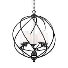 Glass Orb Pendant Light Shop Sea Gull Lighting Goliad 25 In Blacksmith Wrought Iron Single