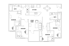 4 bedroom 2 bath floor plans summit 4 bed 2 bath the summit and jacob heights student