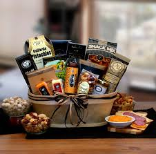 manly gift baskets gourmet nut sausage s gift baskets galore