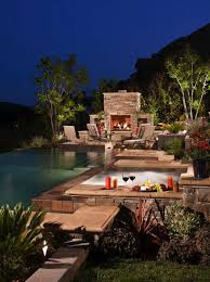 Pool Landscape Lighting Ideas by 40 Absolutely Spectacular Infinity Edge Pools
