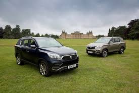 2018 ssangyong rexton coming to the uk this fall priced from gbp