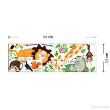 zoo giraffe rhino monkey lion birds wall sticker decal anime zoo giraffe rhino monkey lion birds wall sticker decal anime tablet decals wallpaper