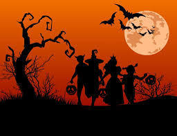 scary happy halloween backgrounds clipartsgram com