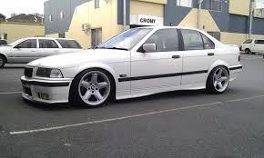 type of bmw cars white bmw e36 sedan on ac schnitzer type 2 mono bmw e36