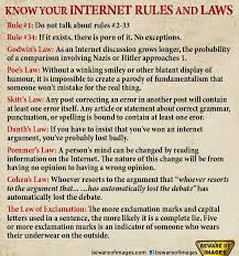 Know Your Meme Rules Of The Internet - opinion ha tea n danger