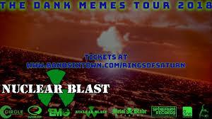 Saturn Meme - rings of saturn dank memes 2018 north america tour official