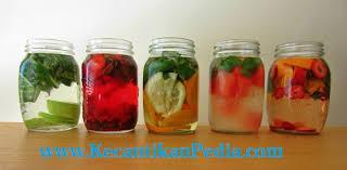 membuat infused water sendiri membuat infused water untuk diet