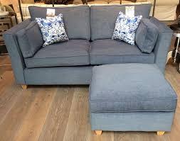 Harry Large Sofa  Footstool In Urban Denim Httpwww - Sofa and footstool