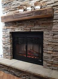 these one of a kind reclaimed wood mantels are treated and stained and will be a