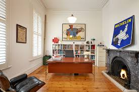 home design vintage home office design inside south yarra home design vintage home office design inside south yarra residence near wooden desk along with