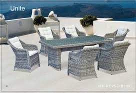 Garden Patio Table Rattan Wicker Garden Patio Table Set Dinning Furniture For Garden