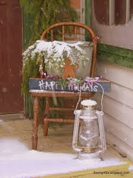 decorating my porch for christmas