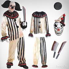 scary clown costumes mens scary clown costume idea top men s costume ideas