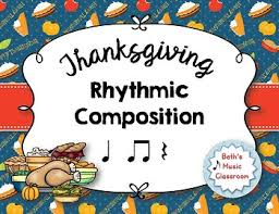thanksgiving rhythmic composition ta ti ti ta rest tpt