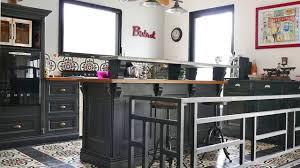 repeindre cuisine en bois décorer la cuisine relooking peinture déco carrelage